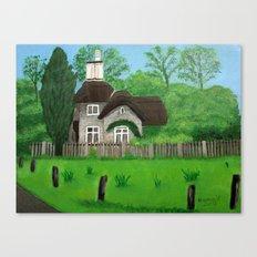 Cottage---Longleat safari park Canvas Print