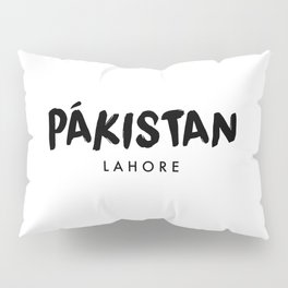 Lahore x Pakistan Pillow Sham