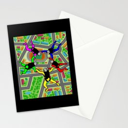 Parachuting Skydiving Free Fall Stationery Cards