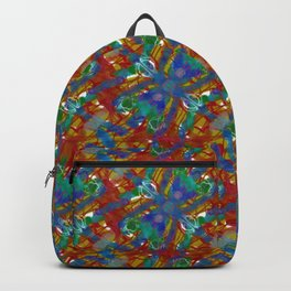 Firefly Pattern Muted Backpack