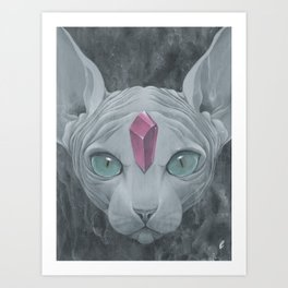 """Sphynx"" Art Print"