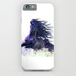 Horse running  iPhone Case