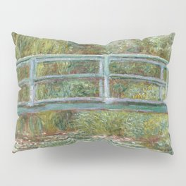 Monet, Water Lilies and Japanese Bridge, 1854 Pillow Sham