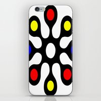 old school iPhone & iPod Skins featuring Old School by Nancy Smith