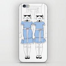 Grady twins troopers iPhone & iPod Skin