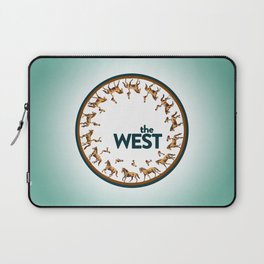 The West Medallion Laptop Sleeve