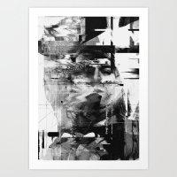 kurt rahn Art Prints featuring Kurt by nicebleed