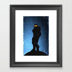 Halo 4 - Sierra 117 Framed Art Print