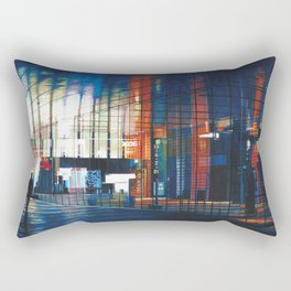 Modern Architecture Glass Rectangular Pillow