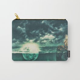Bathing at Full Moon Carry-All Pouch