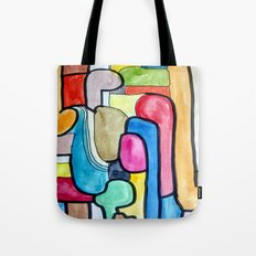 Tube II Tote Bag