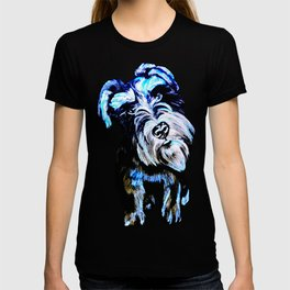 Blue Schnauzer T-shirt