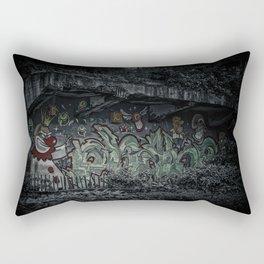Angry Clown Rectangular Pillow