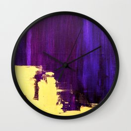 College Please Wall Clock
