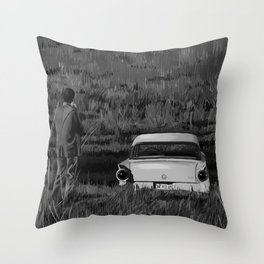 Psycho - Alfred Hitchcock Throw Pillow