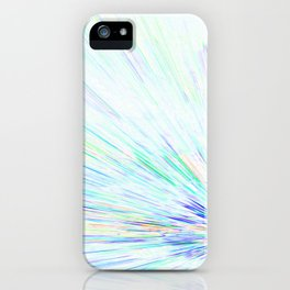 Re-Created Rapture 6 by Robert S. Lee iPhone Case