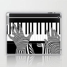 B&W Pianist Laptop & iPad Skin