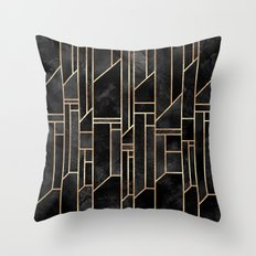 Black Skies Throw Pillow
