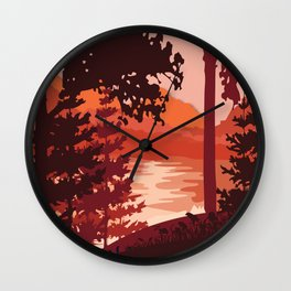 My Nature Collection No. 5 Wall Clock