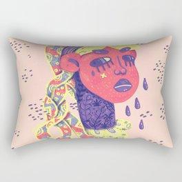 Angry medusa Rectangular Pillow