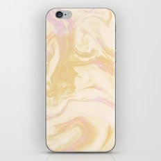 Gold Pink Marble iPhone & iPod Skin