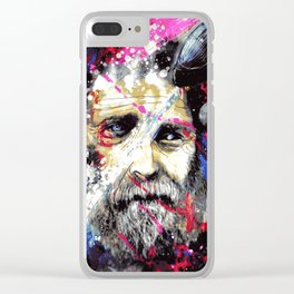 The Greyest of Skies Clear iPhone Case