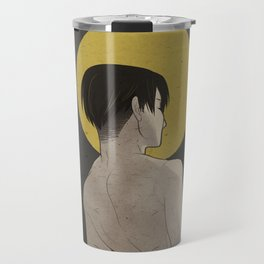 Levi: No Regrets Travel Mug