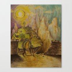 Greener Canvas Print