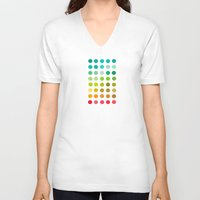 pantone V-neck T-shirts featuring Pantone by lescapricesdefilles