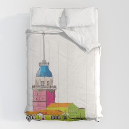 Maiden's Tower, Istanbul Comforters