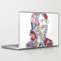dave grohl Laptop & iPad Skins featuring Dave Grohl by Bethan Eastwood