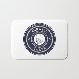 Whiskey & Cigars (Navy) Bath Mat