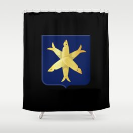 Coat of arms of Zandvoort Shower Curtain