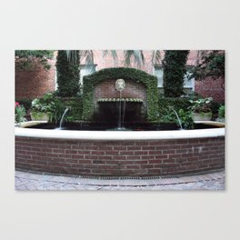 The Lion Fountain Canvas Print