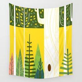 Joyful Trees Wall Tapestry