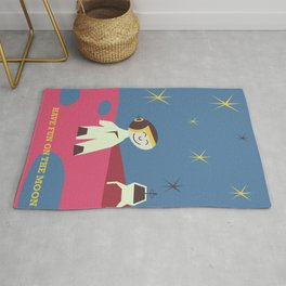 Have fun on the Moon, Rug