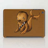 chewbacca iPad Cases featuring Chewbacca Whale by CoolBreezDesigns