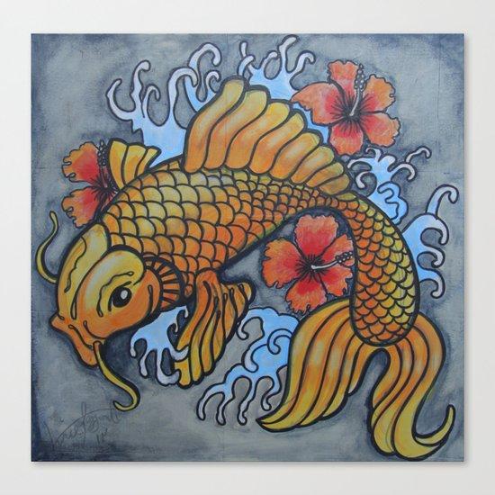 koi fish 02 Canvas Print