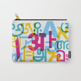 A in Scripts Around the World Carry-All Pouch