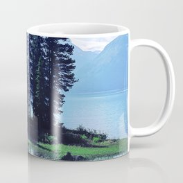 Canadian Scenic: Spirit Island Close-Up Coffee Mug