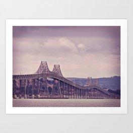 San Fran Bay Bridge Art Print