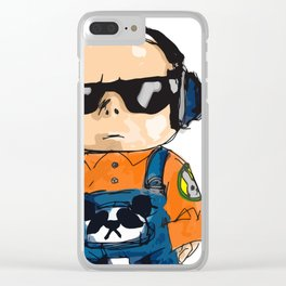 NO DOUBT Clear iPhone Case