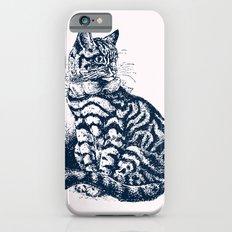 Vintage Kitty Cat Club iPhone 6s Slim Case