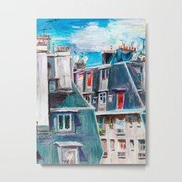 Paris, Ordener Str. Metal Print