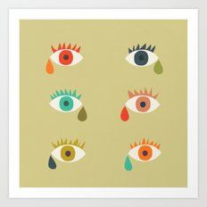 Cry me a river Art Print