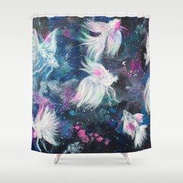 Galaxy Bettas III Shower Curtain