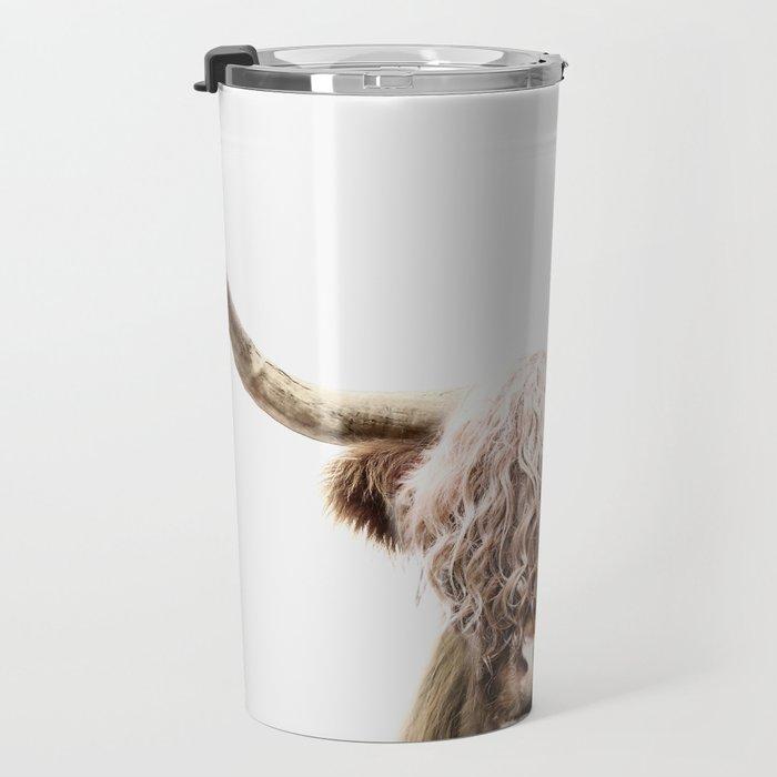 Scottish Highland Cow Travel Mug