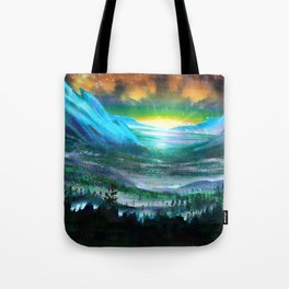 Solar Winds Tote Bag