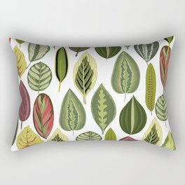 Tree Leaves Rectangular Pillow