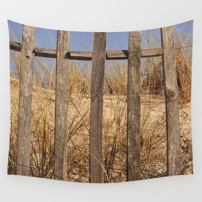 Fence to the Sky! Wall Tapestry